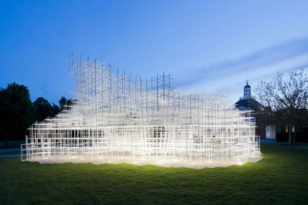 serpentine Gallery Garden Pavillion, photo copyright Iwan Baan